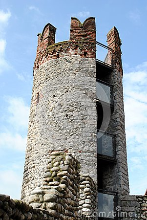 Tower in a medieval castle