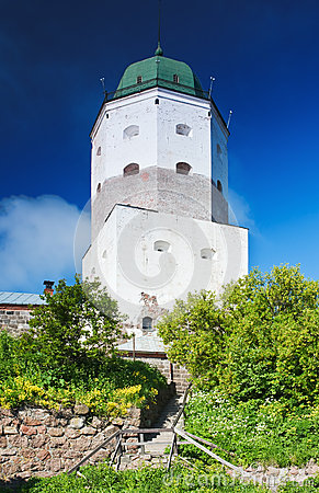 Tower of the medieval castle