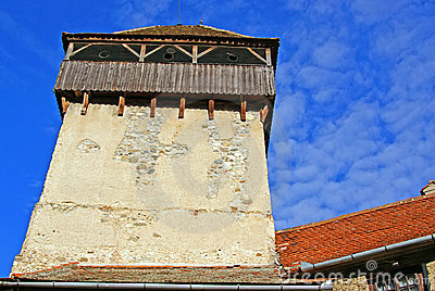 Tower of medieval fortress
