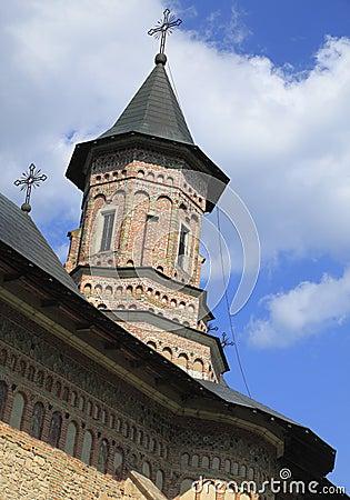 Tower of Neamt Monastery,Moldavia,Romania