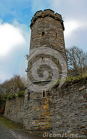 Free Tower Of An Old Castle Stock Photos - 91792993