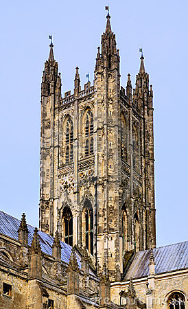 Free Tower Of Cathedral Of Canterbury Stock Photo - 20891120