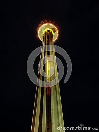 Free Tower Of The Americas San Antonio Royalty Free Stock Photo - 16143795