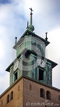 Tower of an old church