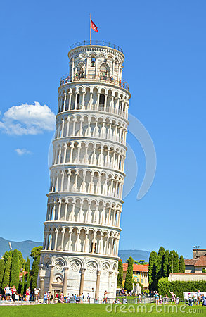 The Leaning Tower of Pisa Editorial Image