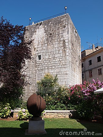 Tower in Porec, Croatia