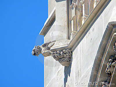 The tower of Saint Jacques, Paris. Detail