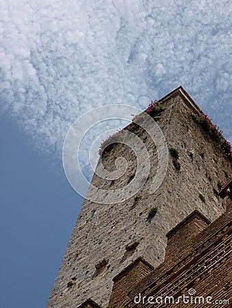 Tower of San Gimignano - Tuscany