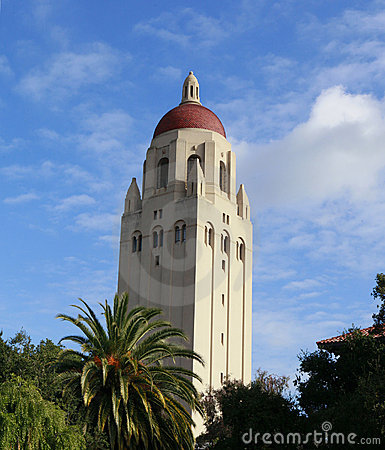 Tower at the Stanford University Campus