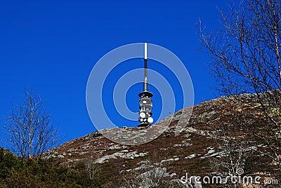 Tower at ulriken Bergen