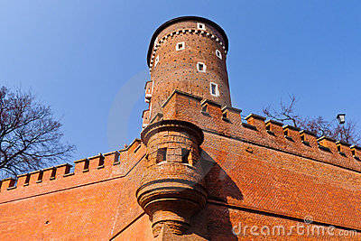Tower of Wawel castle, Krakow