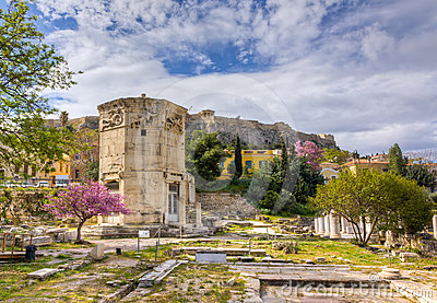 Tower of the Winds, Athens, Greece