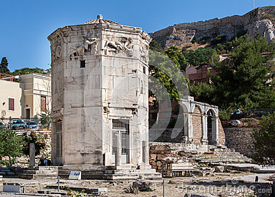 Tower of the Winds Athens Greece