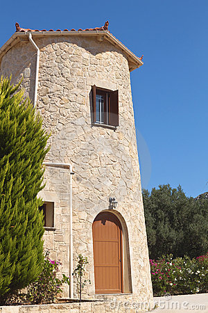 Free Towerhouse Located At Kefalonia Stock Image - 20710721
