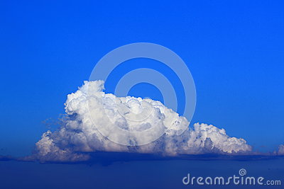Towering cumulus cloud