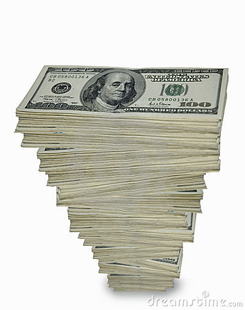 Free Towering Stack Of Cash. Stock Photo - 905140