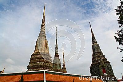 Towering Wat Pho at Bangkok