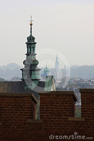 Towers of Krakow