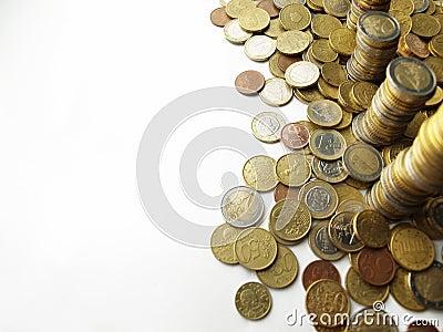 Towers of money