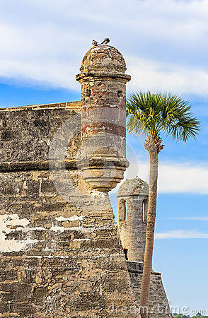 Free Towers Of The Castillo Stock Image - 39795801