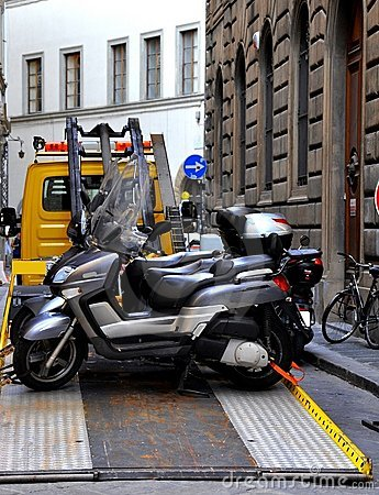 Towing motorcycles