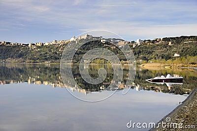 Castel Gandolfo lake