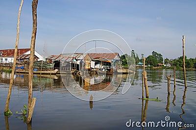 Town of Chau Doc