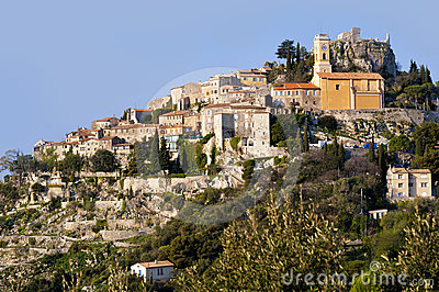 The town of Eze