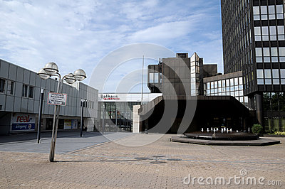 Town hall gallery Essen Editorial Stock Image