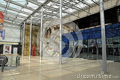 Town hall gallery Essen -  interier Editorial Image