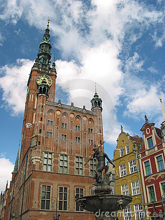 Town hall, Gdansk, Poland