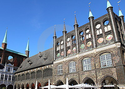 Town hall in Lubeck