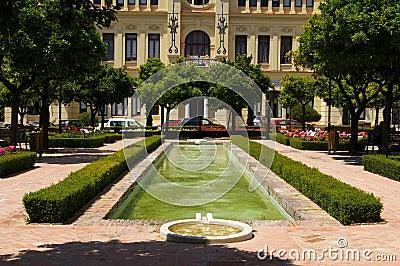 Town hall of Malaga.