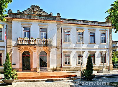 Town-hall of Miranda do Corvo, Portugal