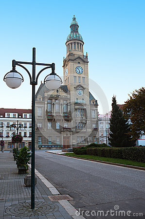 Free Town Hall Of Prostejov Stock Images - 63324424