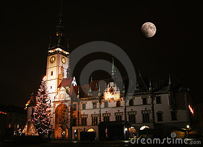 Town Hall in Olomouc, Czech republic Stock Photo