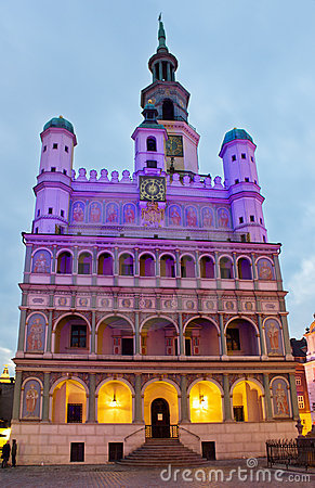 Town hall of Poznan, Poland