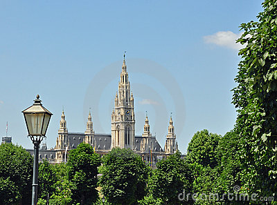 Town hall (Rathaus) of Vienna