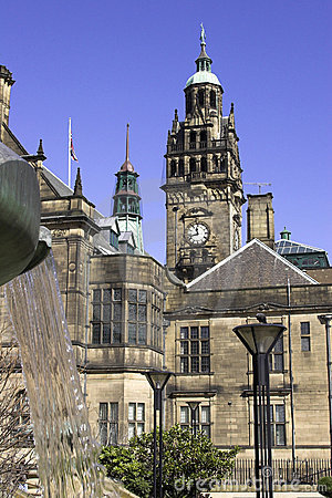 Town Hall, Sheffield, England