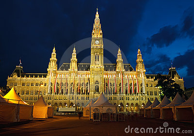 Town hall in Vienna