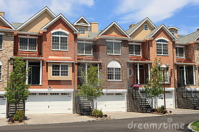 Town houses royalty free stock photos image 5947638