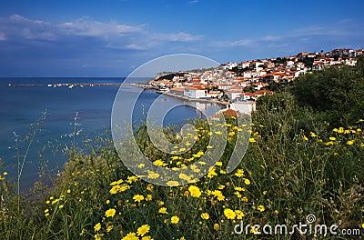 The town of Koroni, Greece