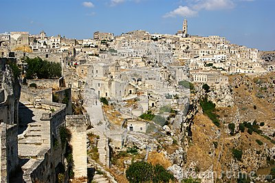 Town of Matera Italy