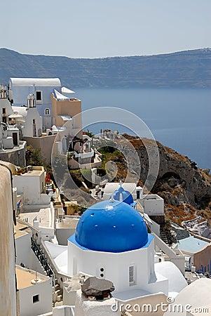 Town Oia, Santorini Greece