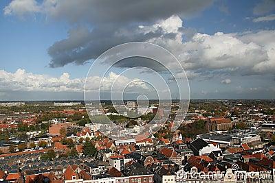 Town panorama