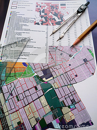Free Town Planning Concept Stock Image - 10446441