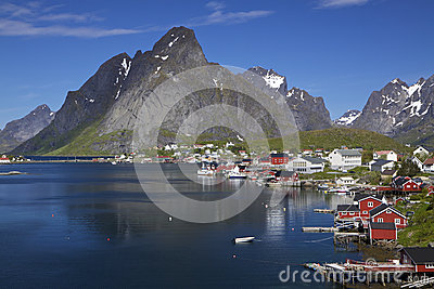 Town of Reine on Lofoten