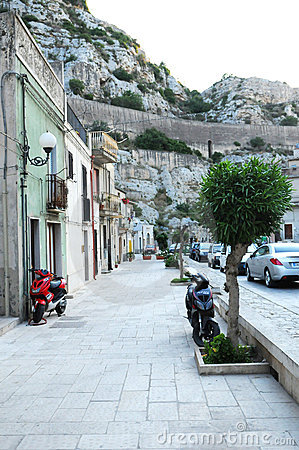 Town in Sicilian mountains