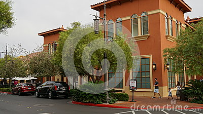 Town Square In Las Vegas Nevada Editorial Photography