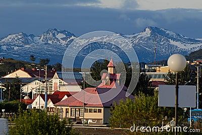 Town Ushuaia, Argentina